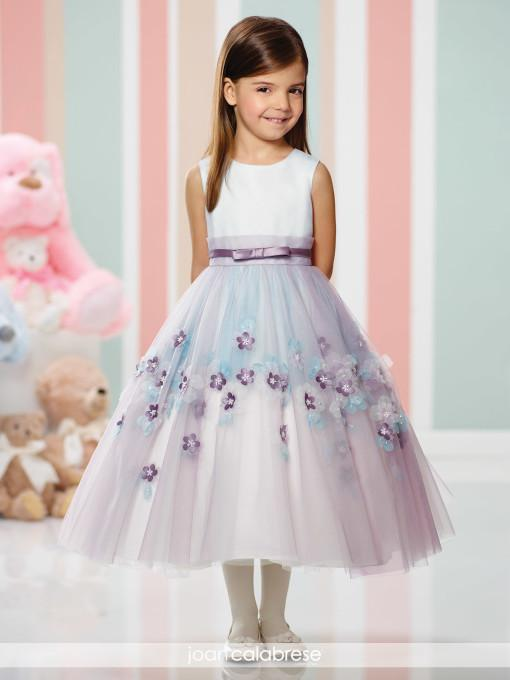 Cheap Black And White Flower Girl Dresses 6