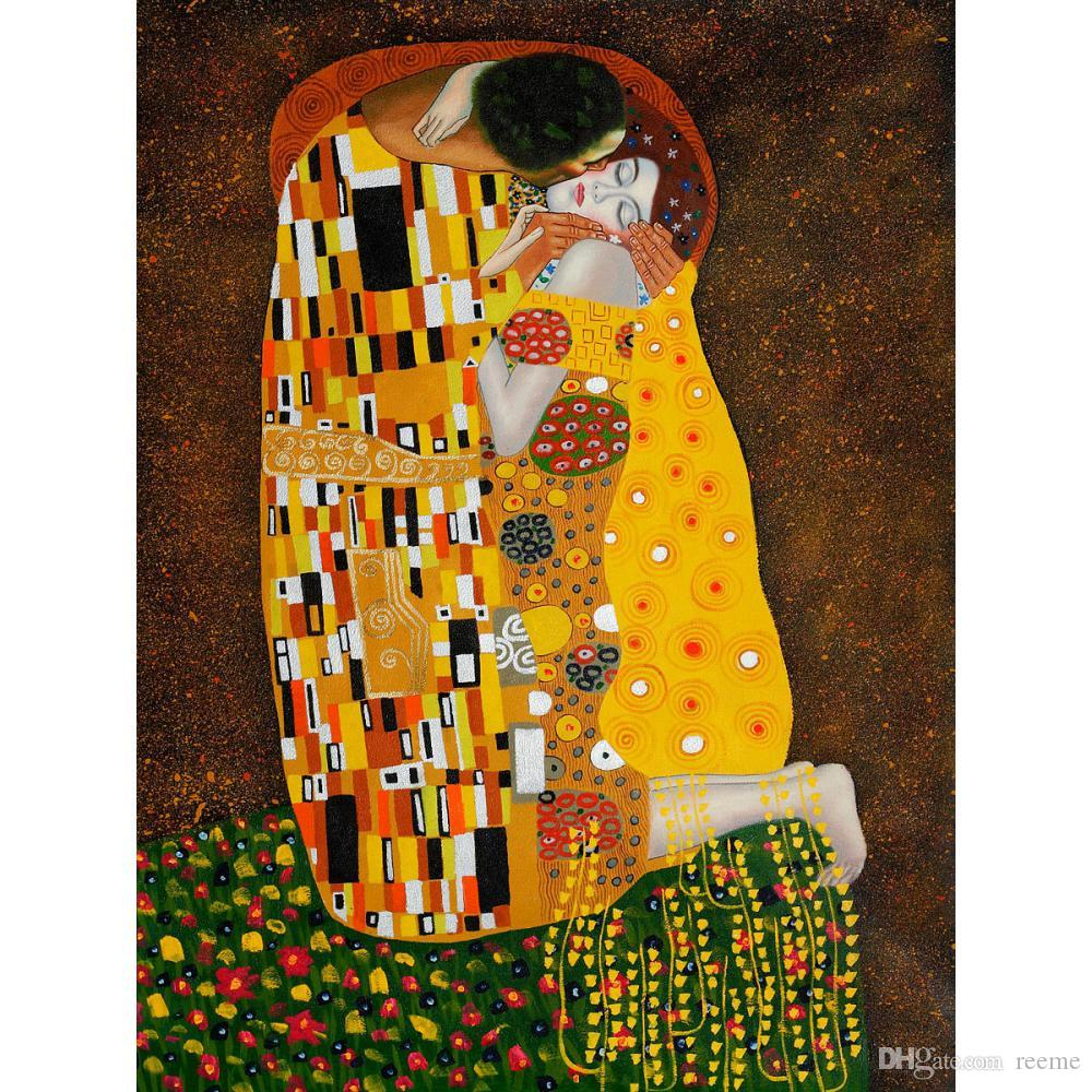 an analysis of the artwork the kiss by gustav klimts Have you ever wondered what would some of your favorite paintings look like in real life inge prader is an austrian photographer who has recreated selected iconic works from her compatriot gustav klimt, and the results are mind blowing the series of images were taken for life ball, an annual event in vienna that seeks to raise funds.