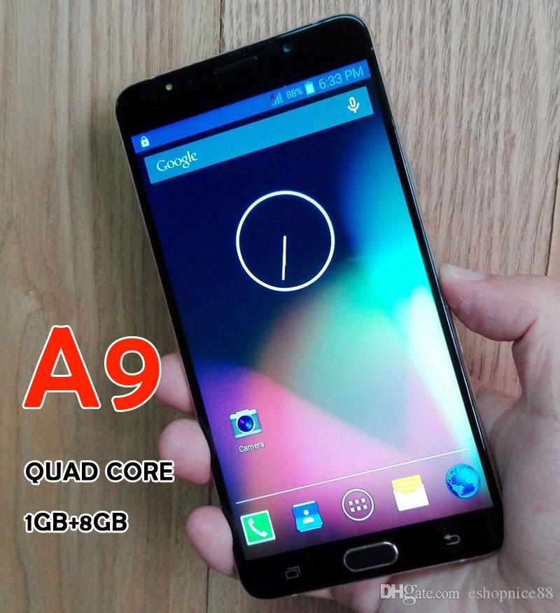 Goody A9 A9000 Mobile Quad Core 6.0 pouces Dual SIM 1280 * 720 1 Go + 8 Go 3MP +