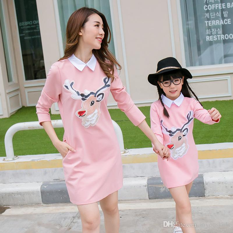 2017 New Family Matching Outfits Fashion Deer Style Family ...