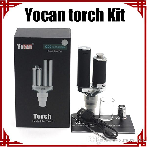 [Sp] original Yocan Torch Kit Vaporisateur Kit Wax Vaporisateur Pen and Dry Herb