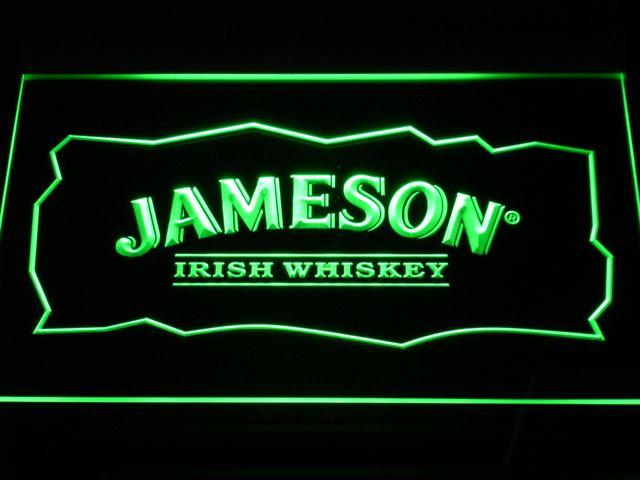 2017 A159 Jameson Whiskey Neon Sign Bar Beer Decor