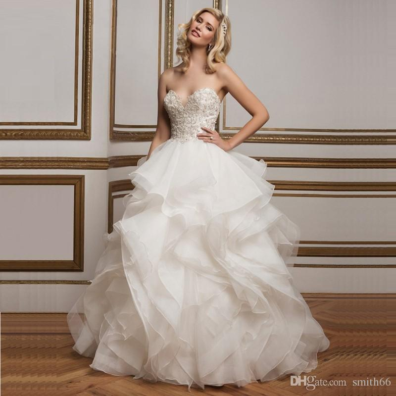 Vintage ball gown wedding dress 2016 turkey country for Dhgate wedding dresses 2016