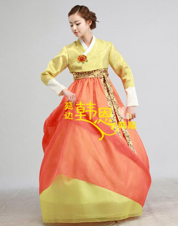 Original Woman Korean Hanbok Korean National Costume Korean Traditional Dress