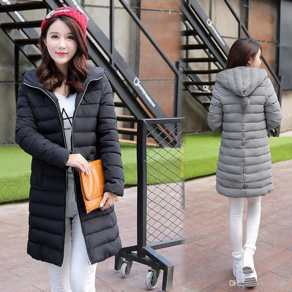 2017 Womens Winter Jackets And Coats Hot Sale 80% Down Parka Women