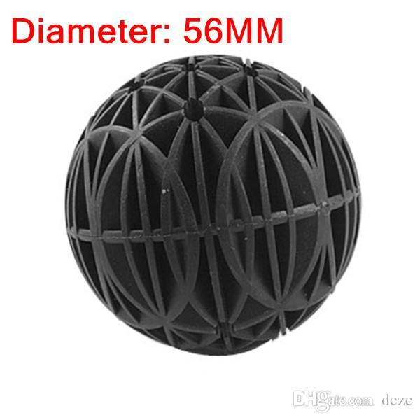 2017 56mm biological bio balls filter media with sponge for Pond bio balls cleaning