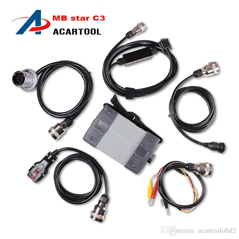 Hot Sale Professional MB STAR C3 mb star c3 diagnostic multiplexeur mb star c3 p