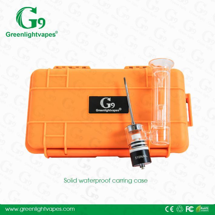 Greenlightvapes 510nail g9 e nail portable atomizer
