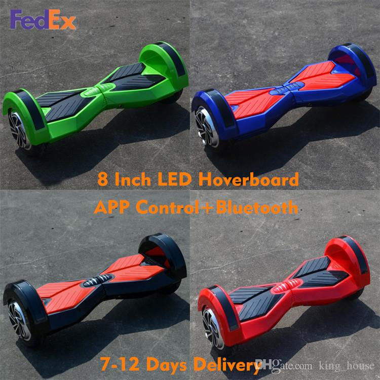 bluetooth hoverboard smart balance wheel 8 inch safety testing certification electric scooter. Black Bedroom Furniture Sets. Home Design Ideas