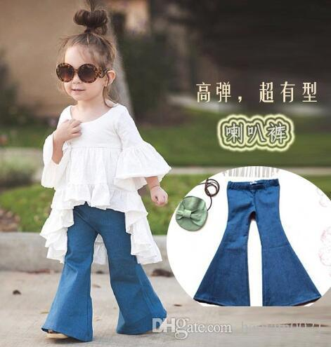 2016 Spring New Arrival Denim Bell Bottoms European & American ...