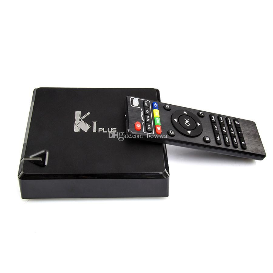 KI Plus Android TV Box K1 Plus Amlogic S905 Quad Core Android 5.1 1G / 8G IPTV S