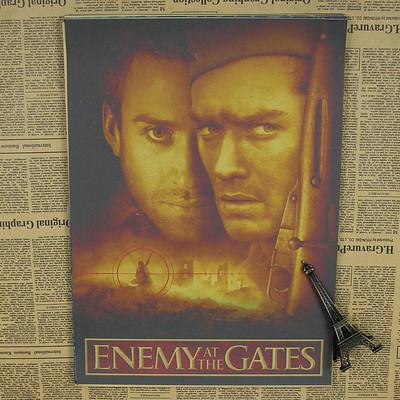 2017 sun86 enemy at the gates vintage movie poster wall
