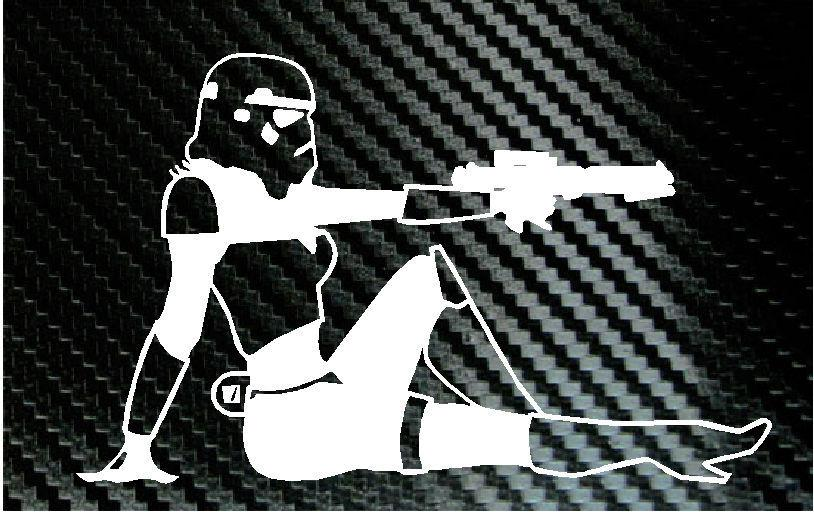 Star Wars Storm Trooper Mud Flap Girl Sexy Car Window Truck Laptop - Car sticker decals vinyl girl