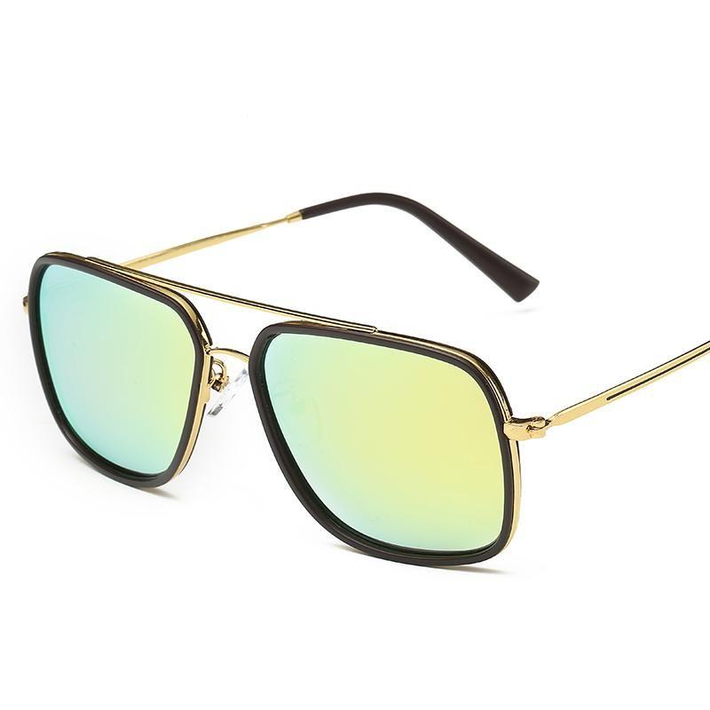 best designer sunglasses  2016 Best Fashion Brand Designer Sunglasses Square Hipster Glasses ...
