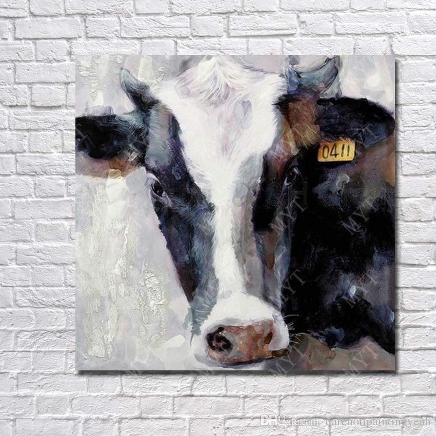 2017 Cow Pictures Wall Art Decorative Home Decor Wall