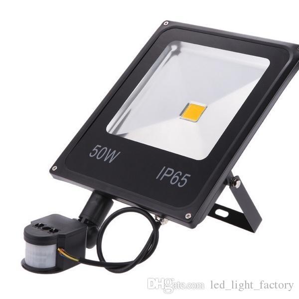 Pir motion sensor automatic switch on led floodlight w