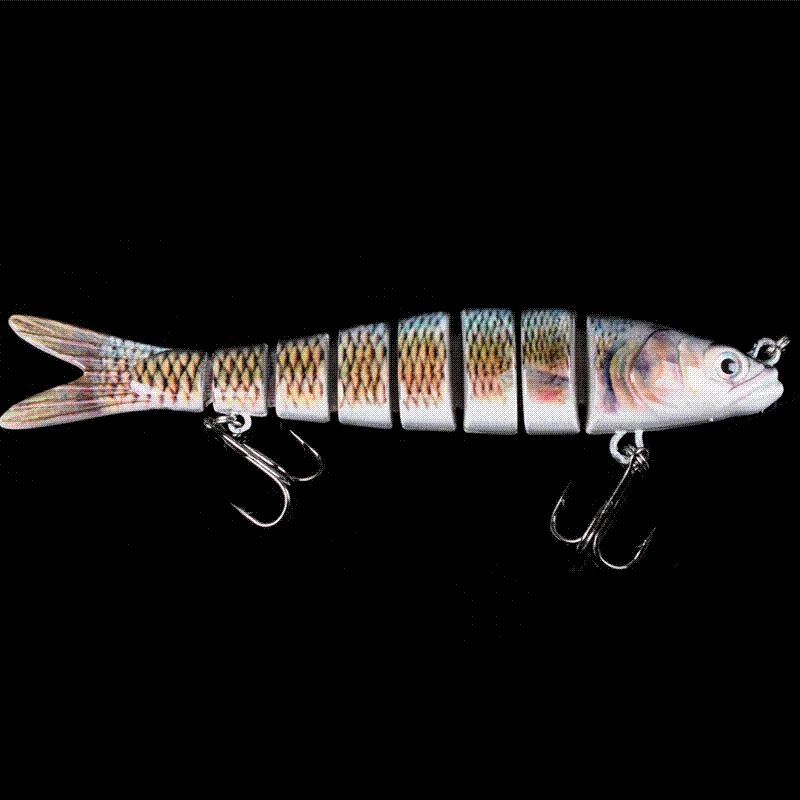 yoyfishing 14cm/27.3g eight jointed high quality bait fishing lure, Hard Baits