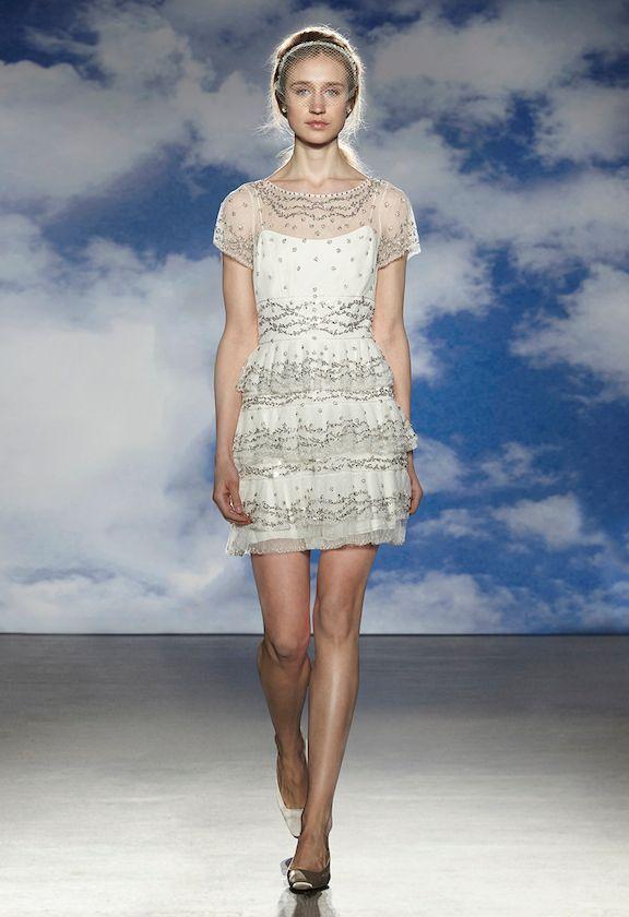 Robe De Mariée Dentelle Jenny Packham Short Wedding Dresses With ...