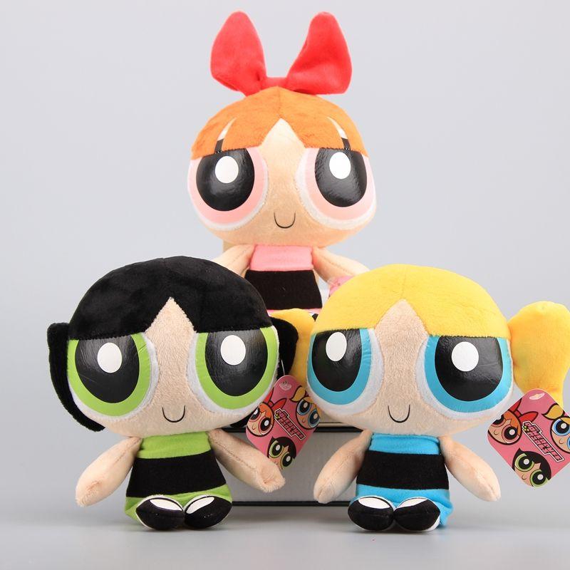 Powerpuff Girls Toys : Cm the powerpuff girls plush doll bubbles blossom