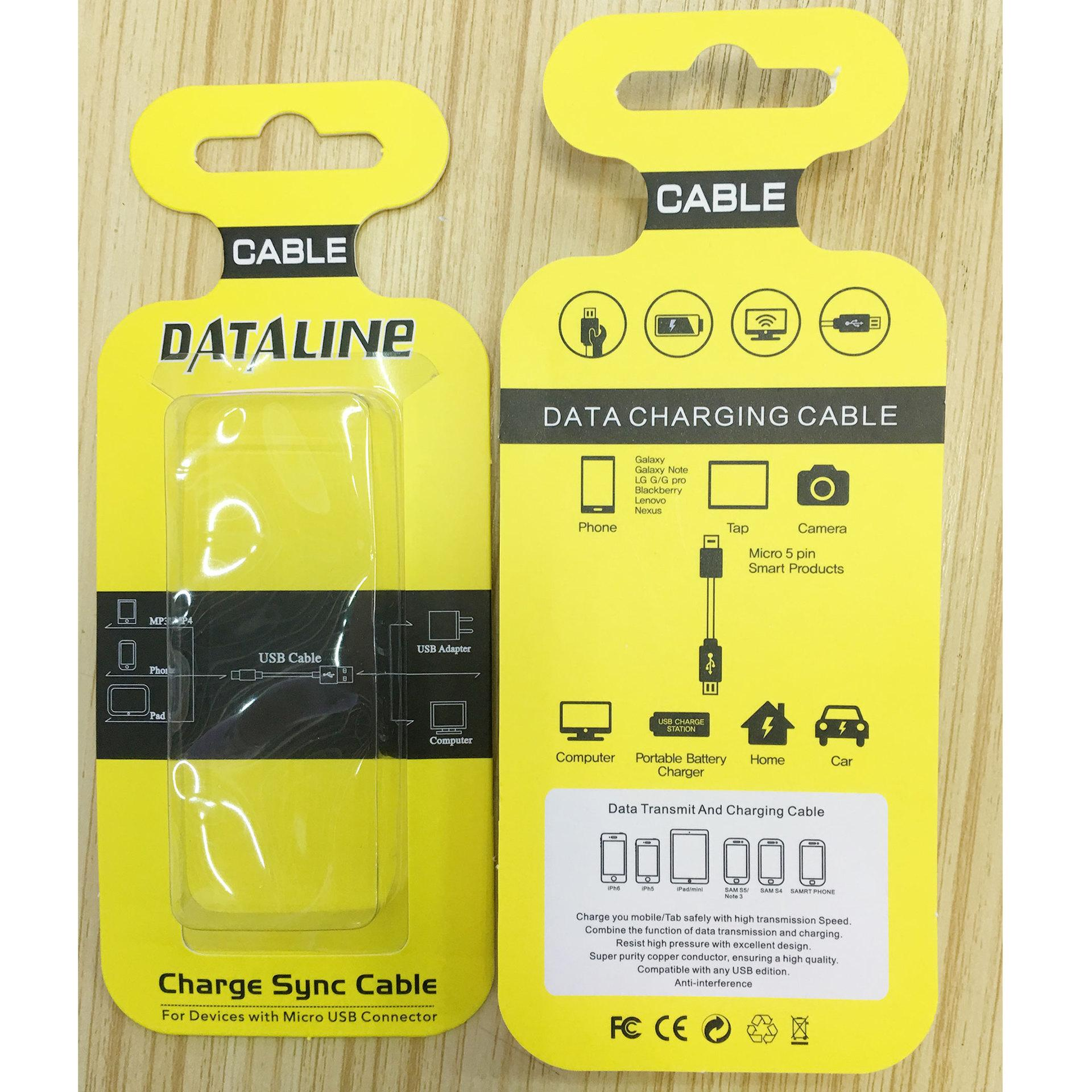 2017 Android Charge Charging Cable Packaging Blister