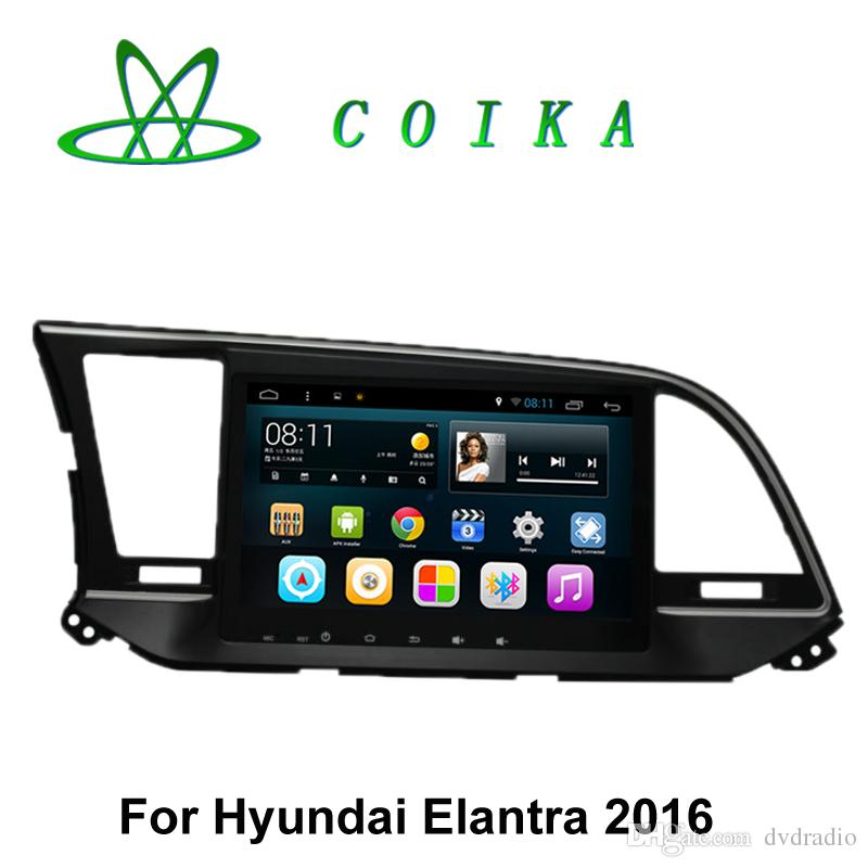 Gps Stereo System For Car Inch 1024*600 Android Auto Stereo Car DVD For Hyundai Elantra 2016 GPS ...