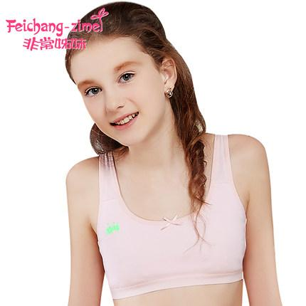 Wholesale 2016 Feichangzimei Teenage Girl Underwear Training Bras ...