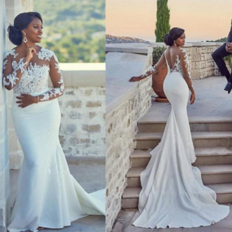 Mermaid Wedding Dresses 2018 Pinterest 76