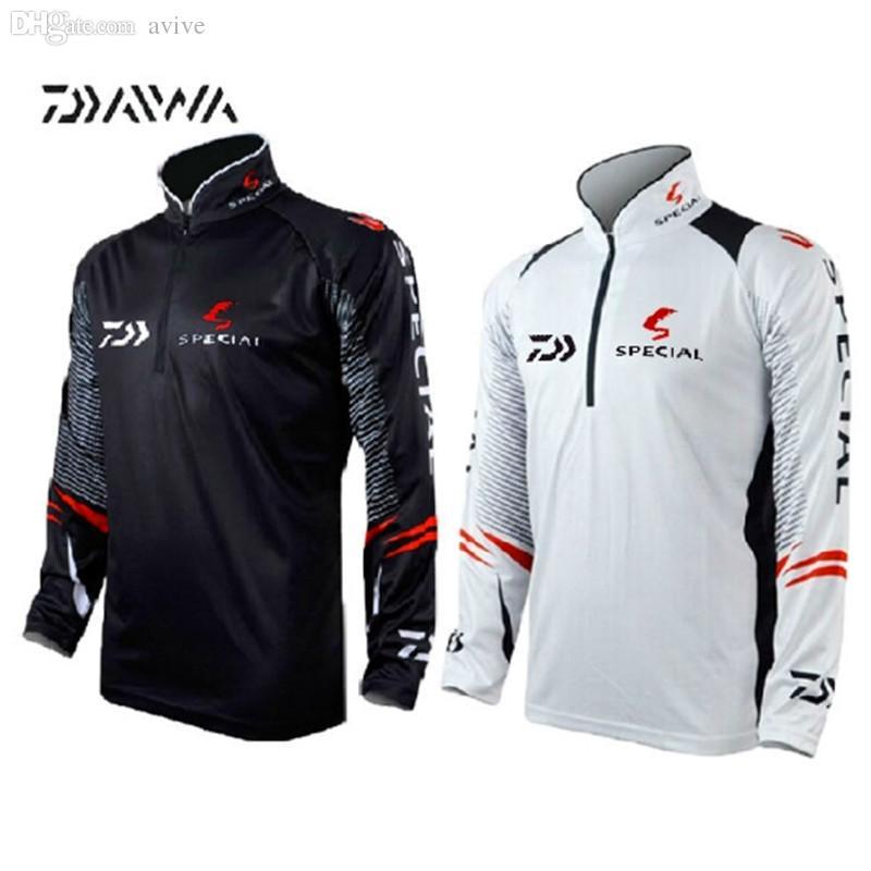 2017 wholesale 2016 newest brand daiwa fishing clothing for Uv protection fishing shirts
