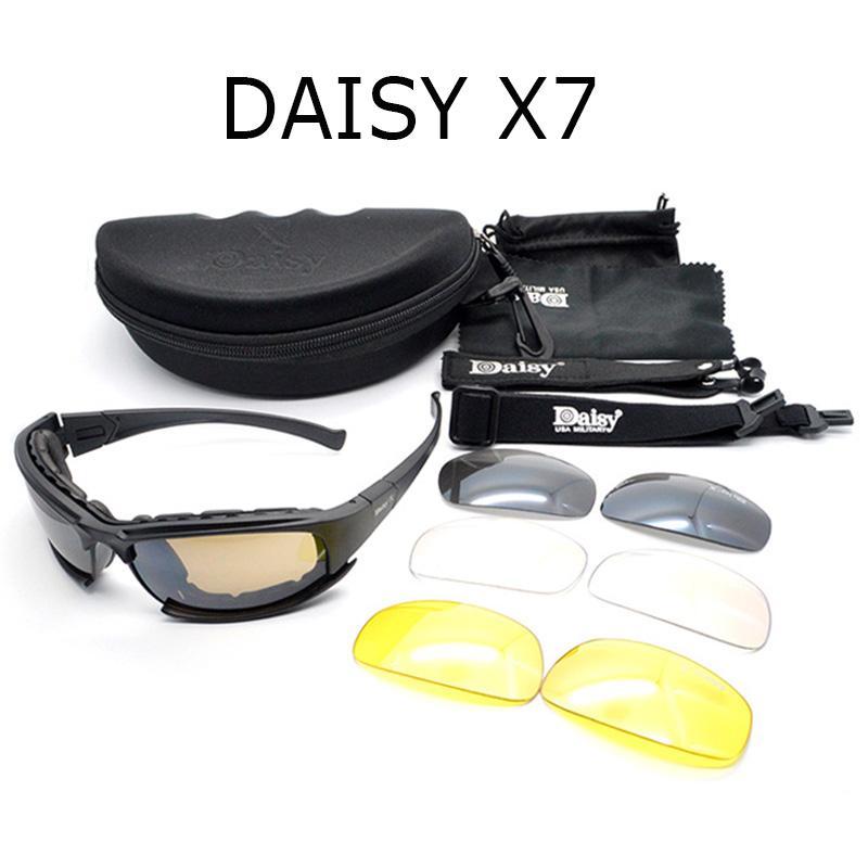 military sunglasses  Daisy X7 Army Goggles Sunglasses Men Military Sun Glasses Male 4 ...