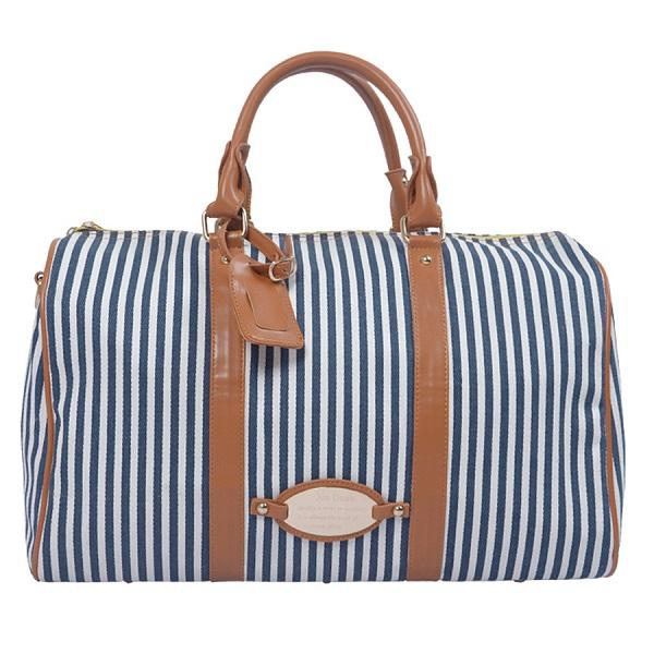 2016 Hot Sale Women Travel Bags/Striped Travel Duffle Bag/Beach ...