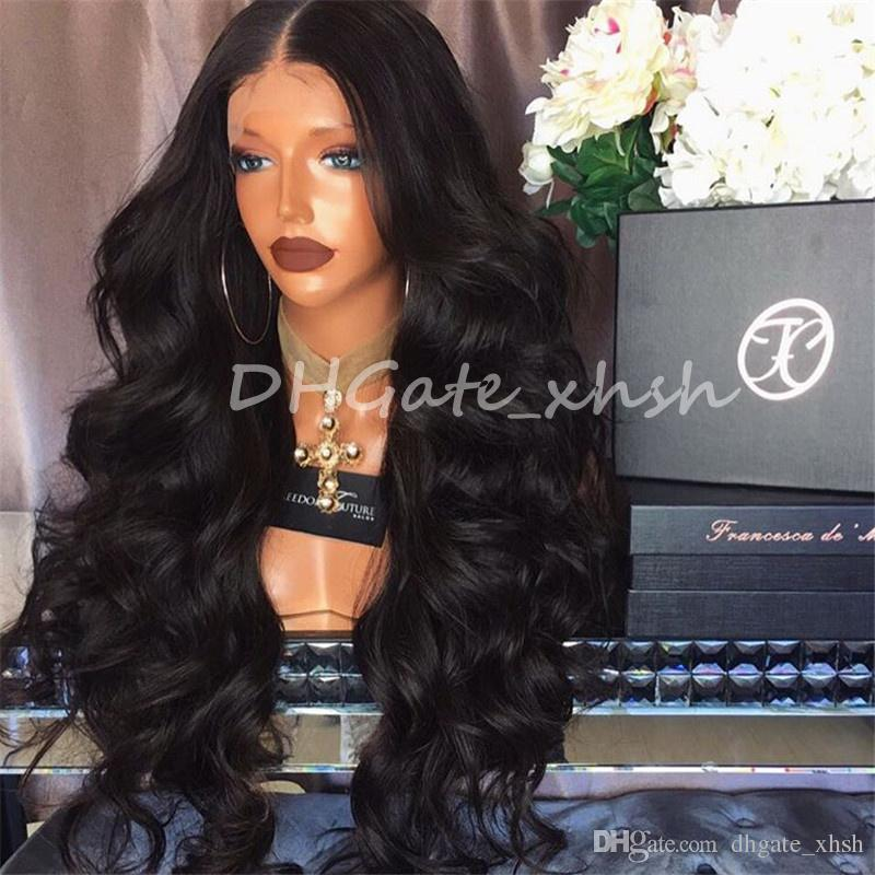Sw074 Full Lace Wigs Silk Top Chinese Virgin Body Wave 81