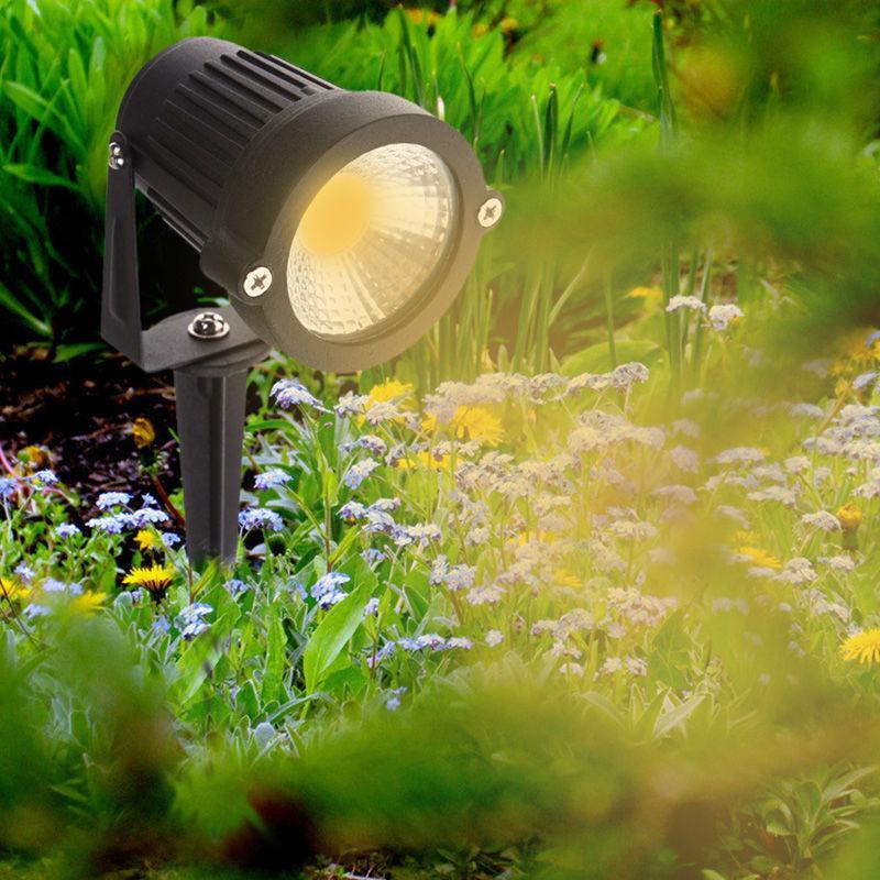 COB Led Lawn Light 3W AC 12V Garden Spot Lamp Spike Landscape LED garden  path lighting