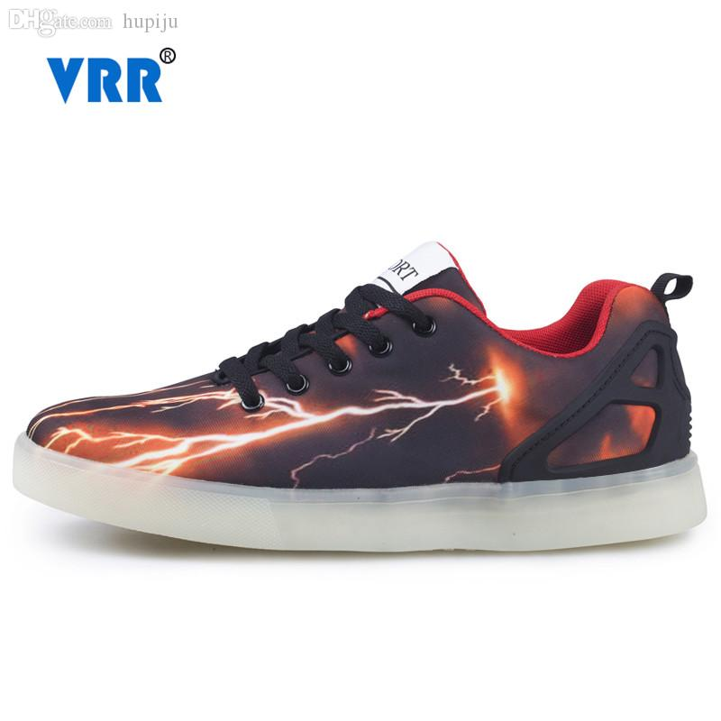 Wholesale-Led Shoes for Men 2016 Fashion Sport Shoes Sneakers Men Led  Luminous Lightning Skateboarding Shoes Size 39-44 Shoe Led Led Shaker Led  Led Online ...