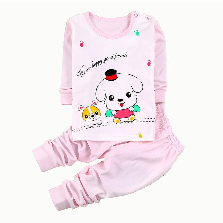 New Winter Wear Cotton Underwear Suits Children Tong Long Johns ...