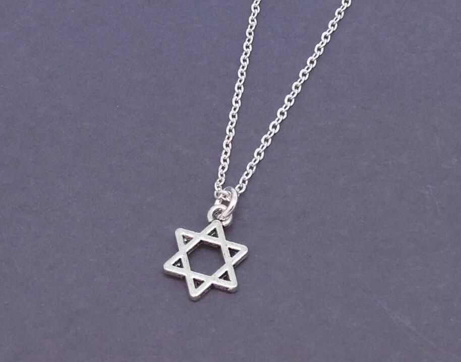 Wholesale judaica jewish star of david necklace israel for Star of david jewelry wholesale