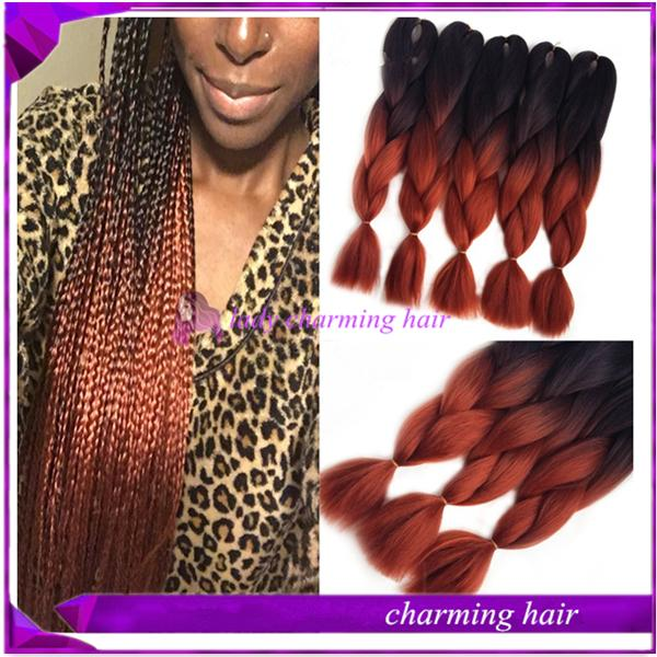 Box braids with red at the ends  YouTube