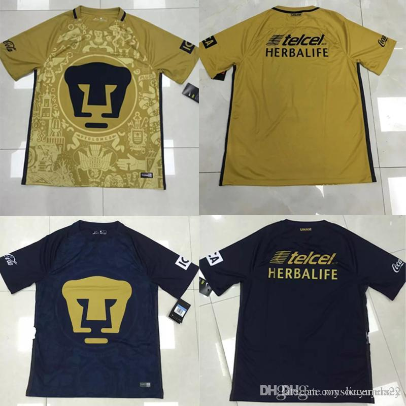 2017 2016 2017 Pumas Unam Home Away Soccer Jersey Mexico