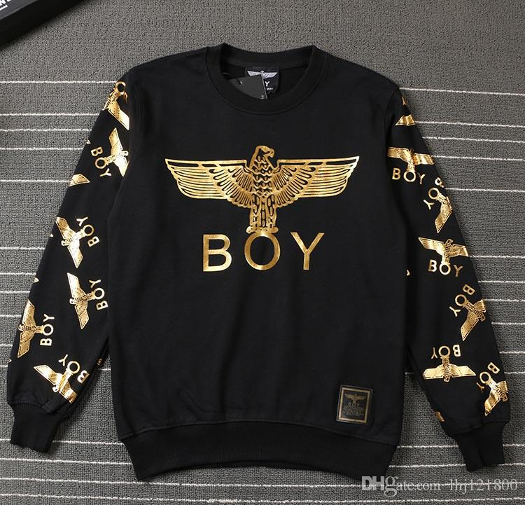 2017 hot hight quality cotton sweatshirt men boy london brand clothing hip hop loose hoodie gold. Black Bedroom Furniture Sets. Home Design Ideas