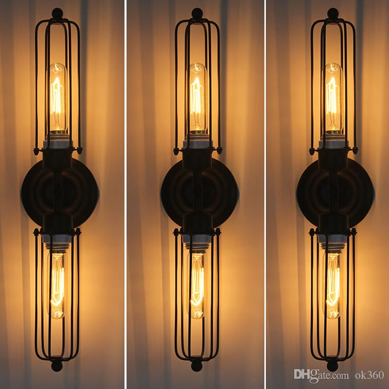 Best Rh Loft Diy Rustic Edison Wall Lamp Vintage Lamp Industrial Sconce Steampunk Lighting ...