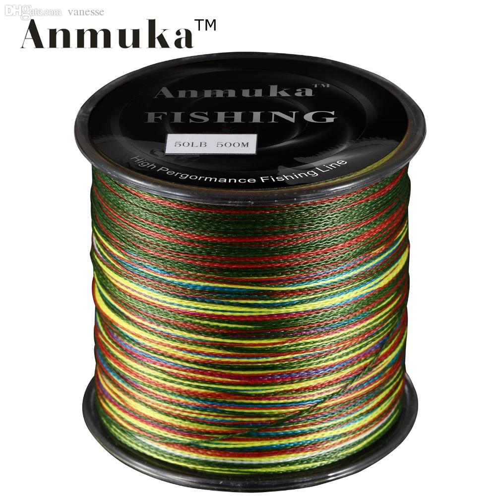 Wholesale 500m anmuka brand super series japan for Cheap braided fishing line