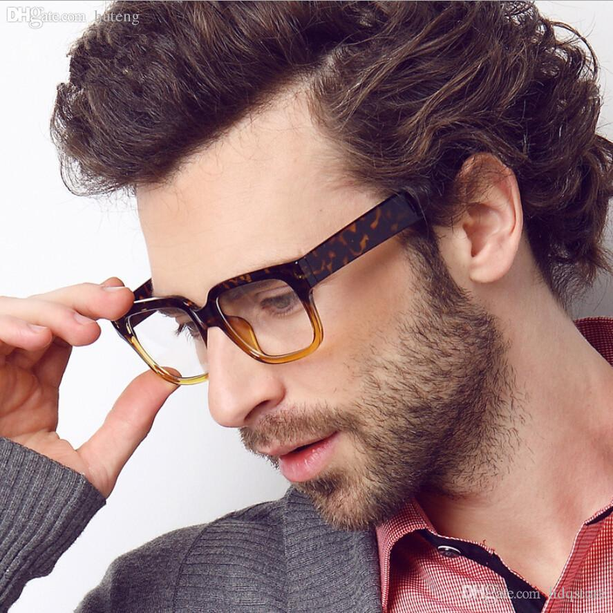mens glasses fashion  2017 Wholesale 2017 Fashion Men Glasses Frames Mens Brand Designer ...
