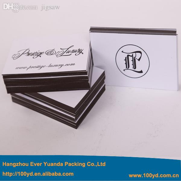 2017 Wholesale High End Gold Edge Business Cards Noble