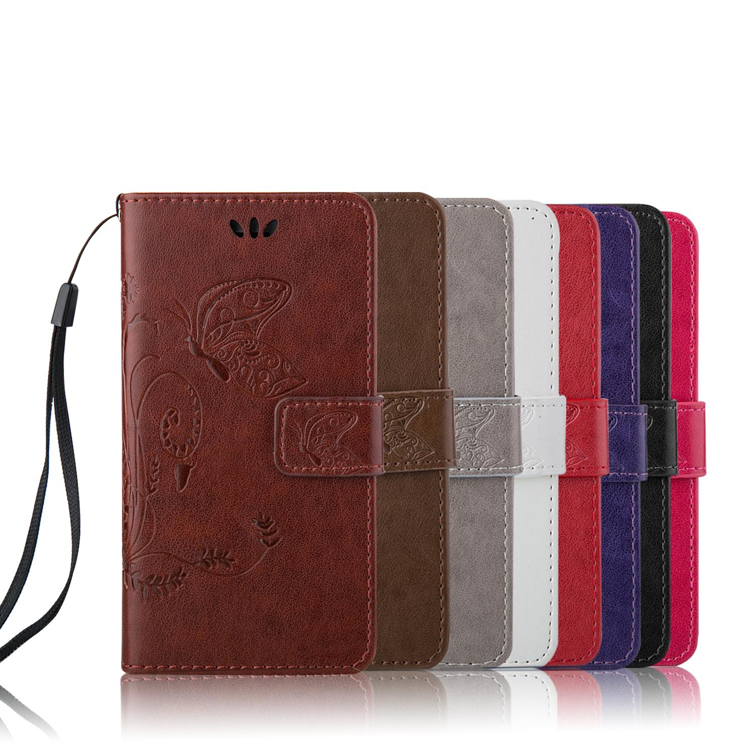Wallet Cases Luxury Book Style PU Leather Flip Case Cover coque iPhone 6 6s plus ShockProof Bags Lanyard