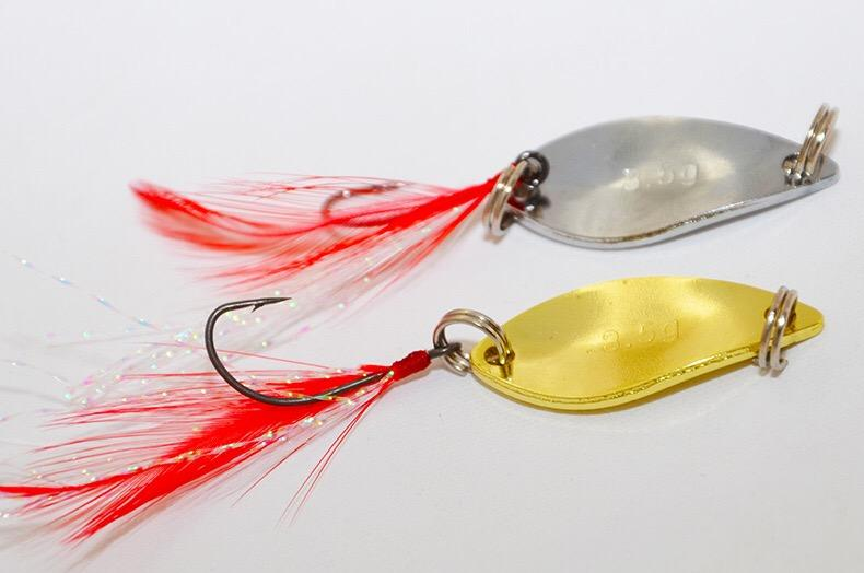 universal lures feather tin sequins features high reflective, Reel Combo