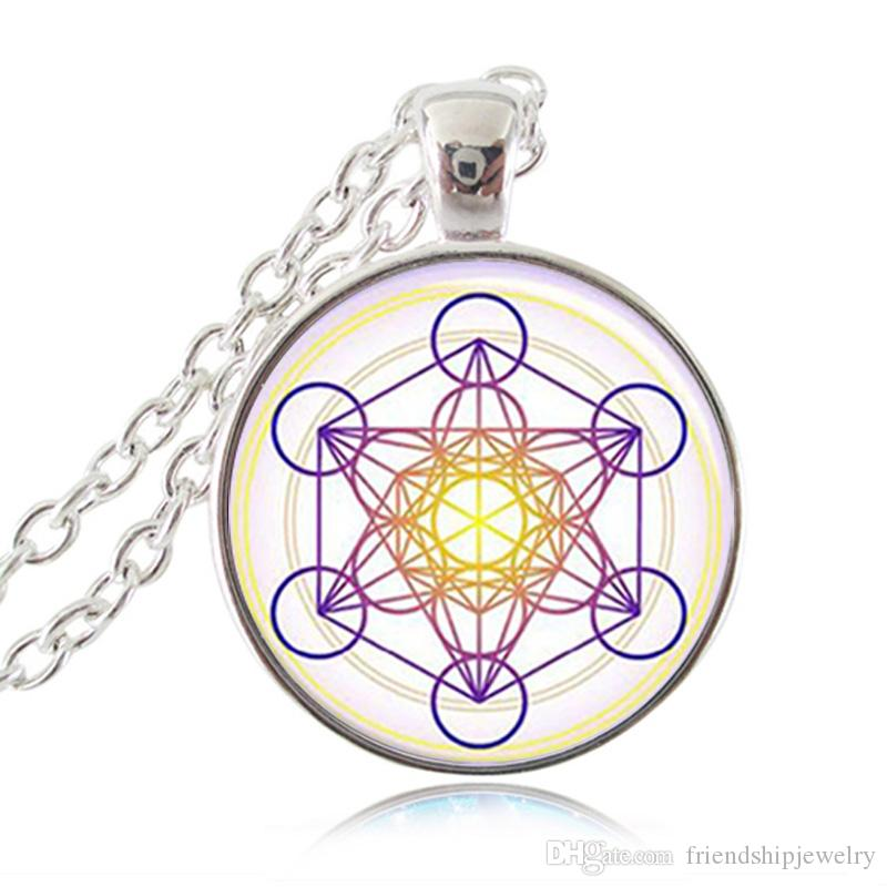 Wholesale metatron cube pendant necklace sacred geometry for Metatron s cube jewelry