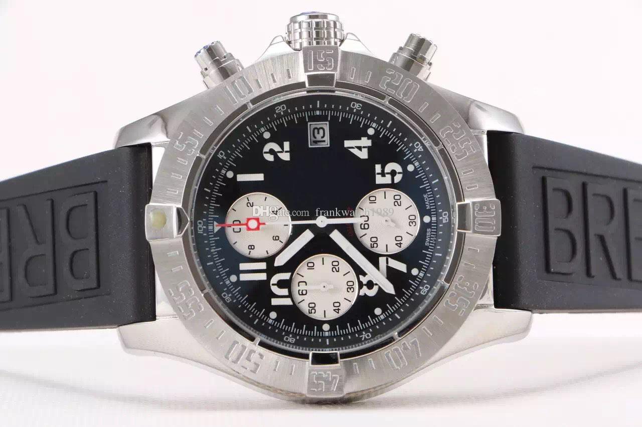 2016 christmas gift mens watch chronometre 1884 quartz stopwatch 2016 christmas gift mens watch chronometre 1884 quartz stopwatch chronograph black dail stainless steel original clasp