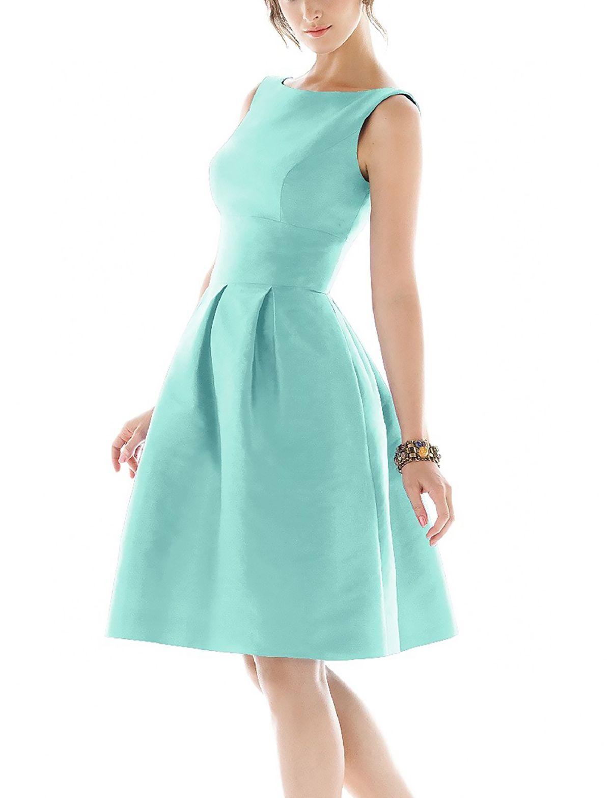 Knee Length Vintage Prom Dresses - Homecoming Prom Dresses