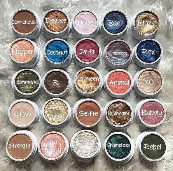 2016 Best Colour Pop Eyeshadow Colourpop Blush Single Color Eye ...