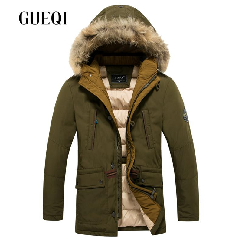Wholesale- Brand GUEQI Clothing Mens Winter Coat 70% Duck Down ...
