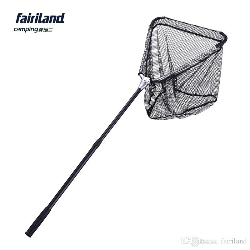 Fairiland 40 40cm aluminum folding fishing landing for Fishing net for sale